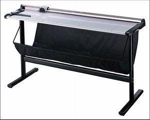 ERC KW-triO 59 inch Wide Format Rotary Paper Trimmer with Stand and Waste Catcher (3026) by kw-trio
