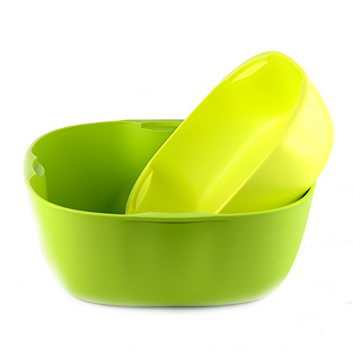 Combination compote/double-decker snack bowl/nuts box/fruit bowl-A