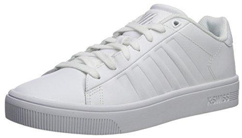 K-swiss Mens Domstol Frasco Sc Sneaker Vit / Vit