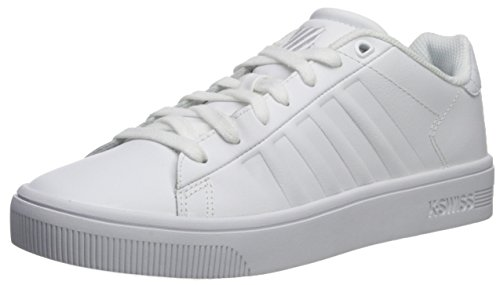 K-swiss Mens Corte Frasco Sc Sneaker Bianco / Bianco
