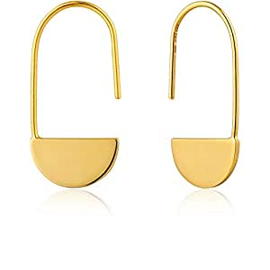 Geometry Drop Earrings - Gold