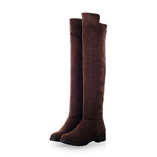 Sconosciuto Brown A 1to9mns02102 Alto Donna Collo 6r6RgFwqH