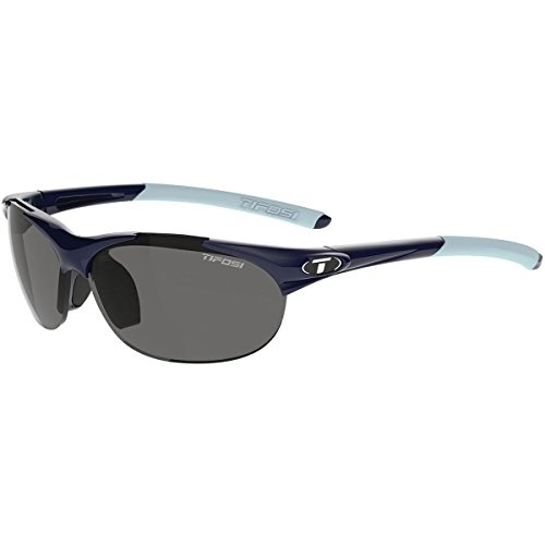 Interchangeable Optics - Tifosi Optics Wisp Interchangeable Lens Sunglasses (Midnight Blue (Smoke; AC Red; Clear))