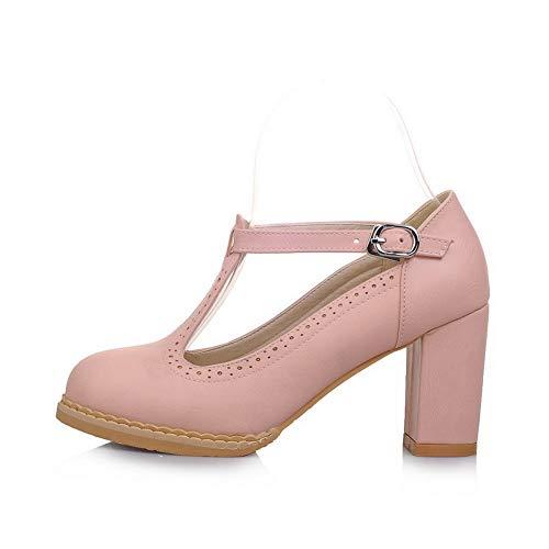 Ruched Pumps APL10463 Paisley Pink Womens Shoes Dress Urethane BalaMasa 5X70fwq6
