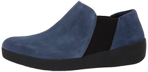 Lacets Chaussures Md lastiques Midnight Femmes Pour Fitflop® Navy Bottines xzOZqwn