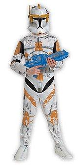 Star Wars Clone Wars Clone Trooper Child's Commander Cody Costume, (Rare Costumes For Halloween)