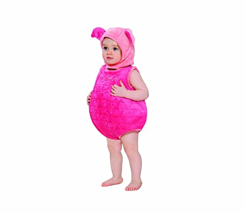 [Disney Baby Piglet Plush Tabard with Feature Hat (3-6 Months)] (Baby Piglet Costumes)