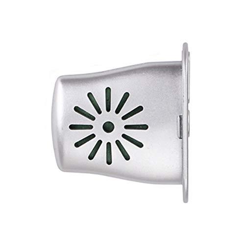 Boutt/é RER15J Robinet de radiateur equerre thermostatisable 15x21 Argent