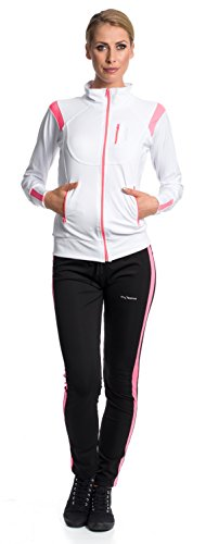Mobina Chándal de Fitness Jogging Yoga para Mujer blanco