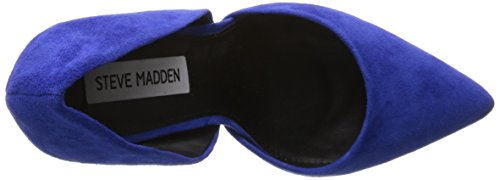 Steve Madden varcityy - Zapatos de tacón para mujer Blue Suede