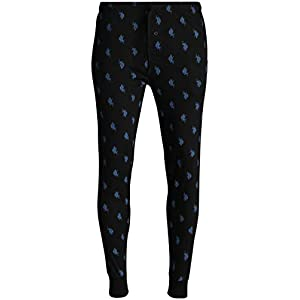 U.S. Polo Assn. Mens' Knit Jogger Lounge Pajama Pants with Allover Print