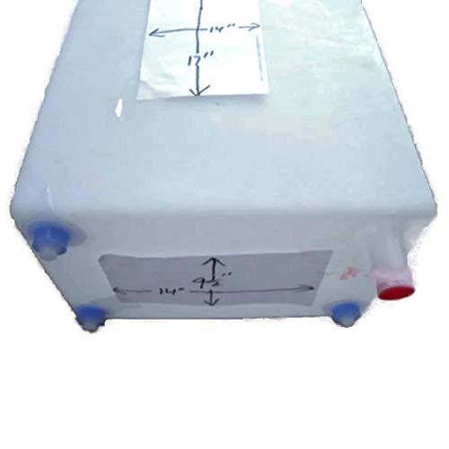MSPowerstrange 10 Gallon Fresh Water Tank FDA RV Camper Trailer Approved in Box
