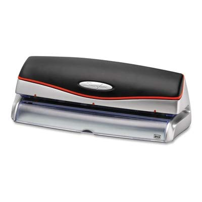 Swingline SWI74520 - Optima 20-Sheet Capacity Electric Three-Hole Punch image