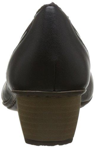 Donna Con schwarz schwarz Scarpe Rieker Tacco 41770 Nero wqZOfF6