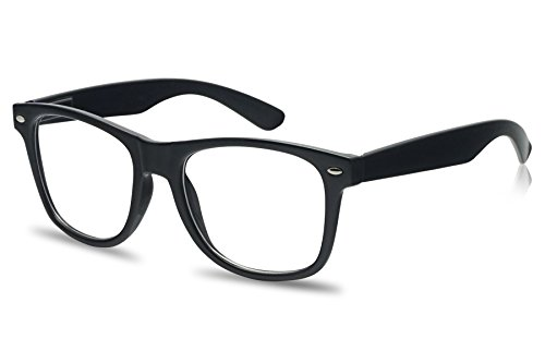 Wayfarer RX Strength Maginfication Reading Eye Glasses +1.00 +1.50 +2.00 +2.50 +3.50 Readers Eyewear (Black, 1 - Black Wayfarer Glasses