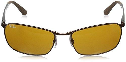 3534Marronbrown brown Gunmetal Sonnenbrillerb Lenses ban Ray kw0PnO