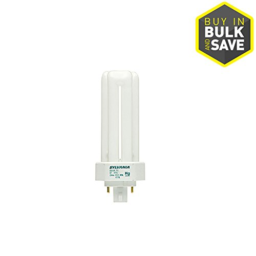 SYLVANIA 42-W Equivalent Dimmable Bright White Triple Tube CFL Light Fixture Light Bulb (Tube Cfl Triple)