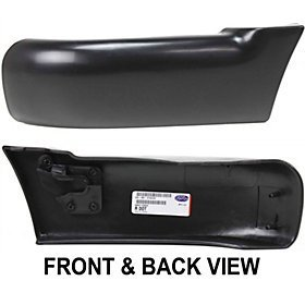 CHEVY/GMC S10 PICKUP 94-97 FRONT BUMPER END LH, w/o Side Molding Holes