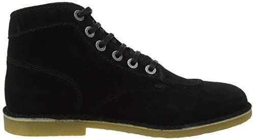 Kickers Cordones De Perm 8 Derby noir Para Orilegend Zapatos Negro Hombre q4Orw4An