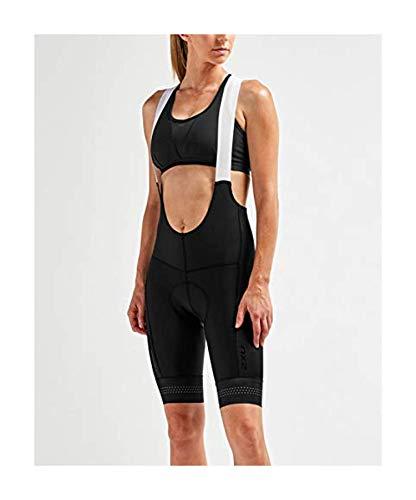 Elite Cycle Bib Short - 2XU Women's Elite Cycle Bib Shorts Black/Black M & Performance Headband Bundle
