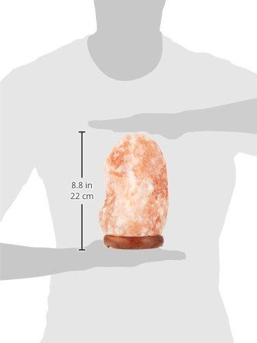 "Accentuations by Manhattan Comfort Therapeutic Himalayan Salt Lamp, 8"", Natural"