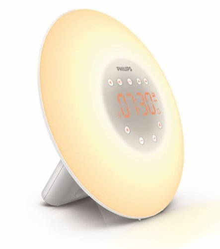 Philips Wake-Up Light Alarm Clock HF3505/01 with Sunrise Simulation - 2...