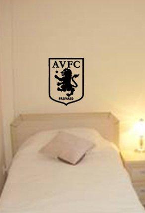 ASTON VILLA FC VINYL DECAL STICKER