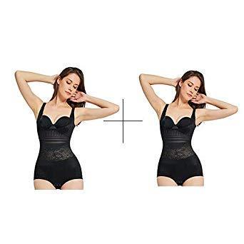 7de7a63170588 Uniqus Waist Trainer 2 Pieces Modeling Strap Tummy Shaper Slimming Corsets  Body Shapers Women Butt Lifter