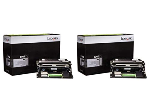 Lexmark 50F0Z00 Return Program Imaging Unit 2-Pack for MX410, MX510, MX610