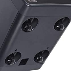 Lasko Cool-Touch Infrared Quartz Remote Control, QB16103 Heater, Gray