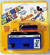 Collectible Kodak Disney Mickey Matic Camera 110 film