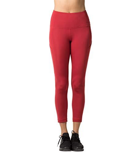 Avec Pilates poches Legging Sport Rouge Fitness Large Sur Gym Poches Pantalon Yoga Côtés 26 De Lapasa L01 Les Taille Gaine Femme Haute nvUTqdX
