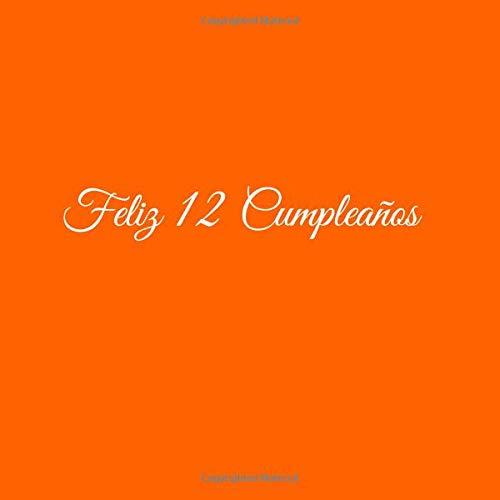 Amazon.com: Feliz 12 cumpleaños: Libro De Visitas 12 Años ...