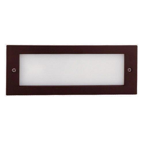 Elco Lighting ELST33BZ CFL Brick Light with Open Faceplate