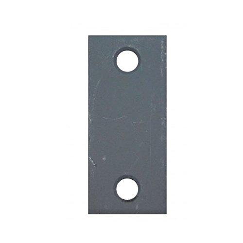 Donjo Latch (Don-Jo EF-160 Latch Face Filler Plates, Blank, 1