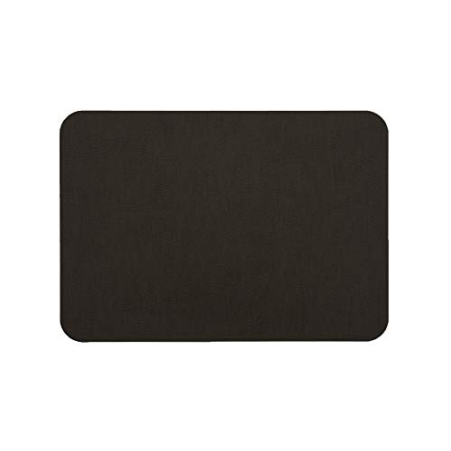 MastaPlasta Self-Adhesive Patch for Leather and Vinyl Repair, XL Plain, Dark Brown - Multiple Colors Available