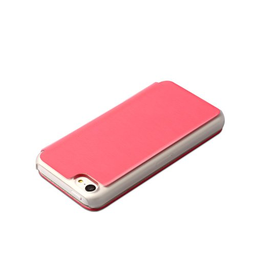 ZENUS Masstige Color Flip Case für Apple iPhone 5c, Rosa