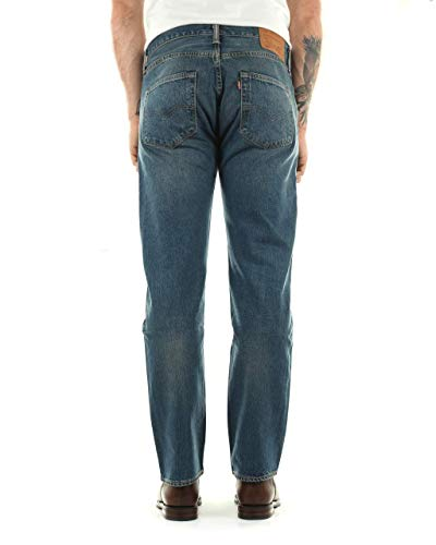amp; 501 Tapered Hook Jeans 1307 Levis Customized Brand 00501 Uomo tHwWqxPFn6