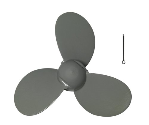 Aluminum Propeller 7 1/4x5-A for 2HP 3.5HP Outboard Motor Yamaha primary