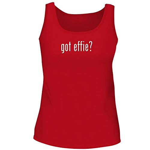 BH Cool Designs got Effie? - Cute Women's Graphic Tank Top, Red, XX-Large ()