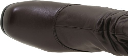 David Tate Womens Vera Boot Brunt Läder