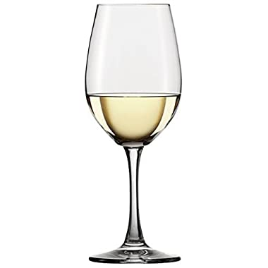 Circleware Fabulous White Red Wine Drinking Glasses, Set of 6 Goblets, 13 Ounce, Limited Edition Glassware Drinkware Cups