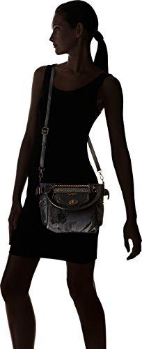 Bols h 10 Desigual t Mujer Negro Blackout 2000 U Mini x mcbee Negro 70x23 20x20 50 cm b UqwpZd