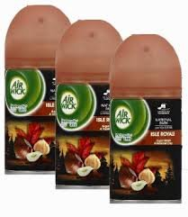 Air Wick Freshmatic Automatic Spray Air Freshener, Isle Royale Sugar Maple and Hazelnut Crisp Scent, 6.17 Ounce (Pack of 3) by Air Wick