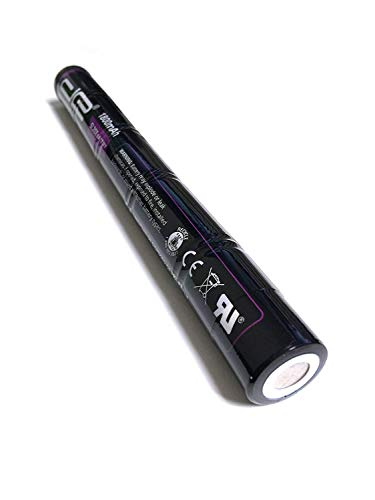 1.8Ah DE 20175 77175 Streamlight SL20X LED SL20XP LED SuperStinger UltraStinger Rechargeable Replacement Battery - NiCd 6.0V for SL-20X//LED SL-20XP-LED 1800mAh