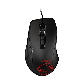 ROCCAT KONE PURE OWL-EYE – OPTICAL RGB Gaming Mouse, Black (ROC-11-725-AM)