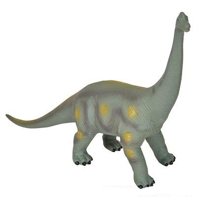 "Educational Dinosaur Figures - Large, Soft and Squeezable Brachiosaurus - Realistic Jurassic Period Dino Toy 15"" Dinosaur Toys"