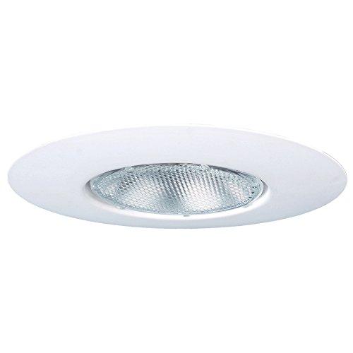 Utilitech White Open Recessed Light Trim (Fits Housing Diameter: 6-in) Open Recessed Light Trim