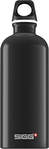 Sigg Traveller Water Bottle(Black, 0.6-Litre)