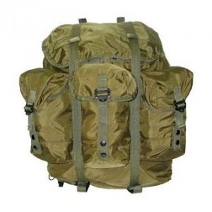 Military Surplus Alice Pack Only, Gi, Used, Medium, OD Gr...